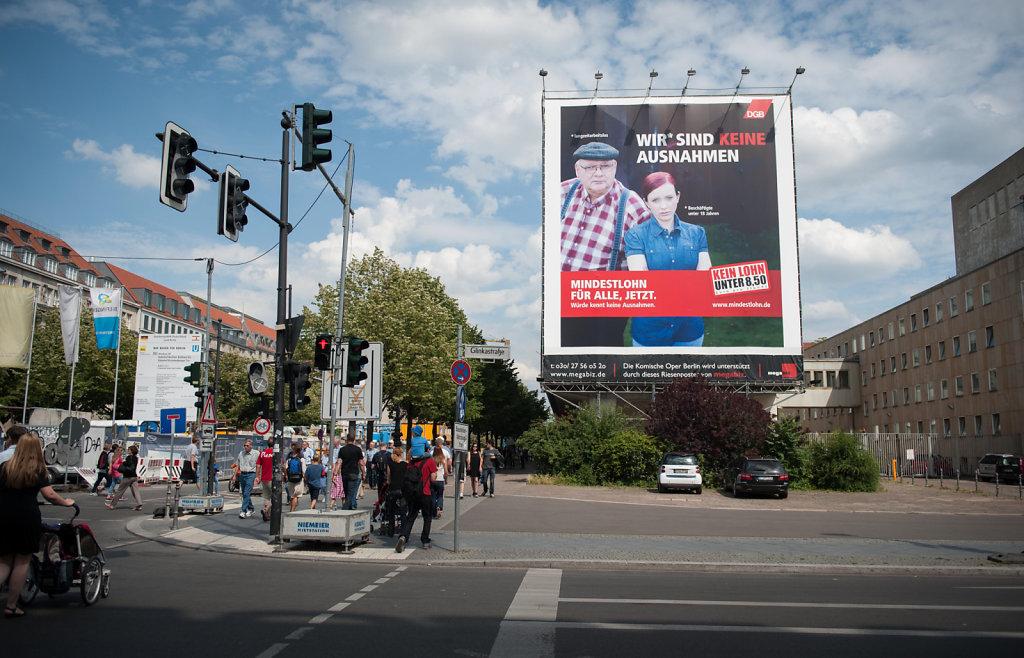 Mindestlohn-Kampagne